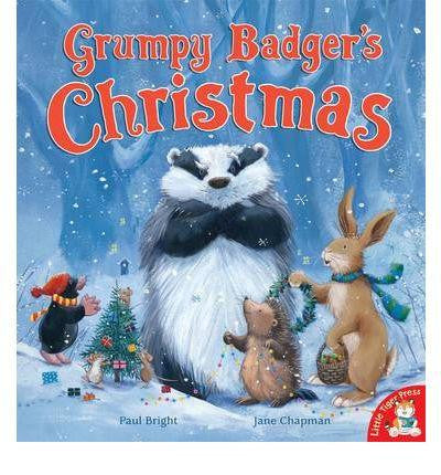 Little Tiger Press Big Box of Christmas Stories - Grumpy Badger's Christmas