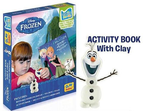 Clay Buddies Disney Frozen Clay Buddies - Starter Pack Activity Book