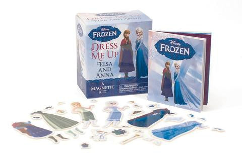 Playep Toys Frozen: Dress Me Up Elsa and Anna: A Magnetic Kit