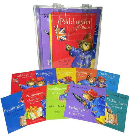 HarperCollins Paddington Bear 10 Books Collection Pack Set in Carrier Bag