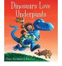 Simon & Schuster Aliens Love Underpants Collection - Dinosaures Love Underpants