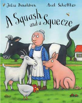 Macmillan Julia Donaldson Book Collection - A Squash And A Squeeze