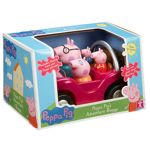 Character Options Peppa Pig's Adventure Buggy