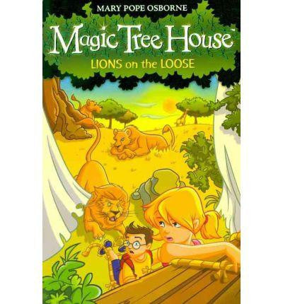 Red Fox Magic Tree House Collection - Lions on the Loose