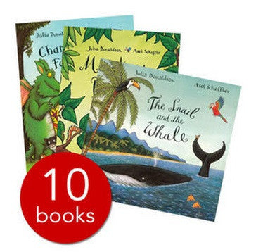 Julia Donaldson Story Collection - 10 Books