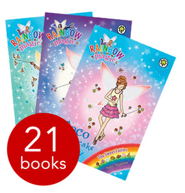 Orchard Rainbow Magic Series 18-20 Collection - 21 Books