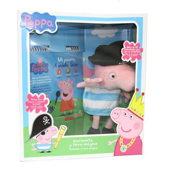 Simba Peppa Pig Puppet Book George