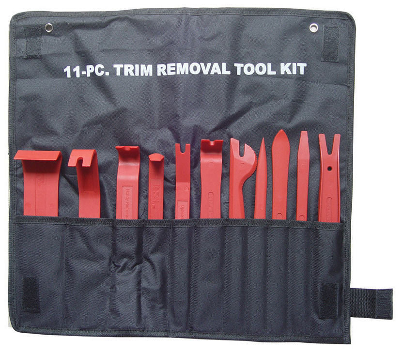 11Pcs Auto Car Truck Door Trim Panel Dash Installer Removal Wedge Pry Tool Kit