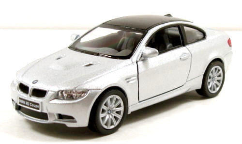 "Kinsmart BMW M3 Coupe 1/36 scale 5"" diecast metal model car Silver"