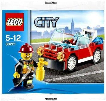 LEGO 30221 Polybag Fire Car
