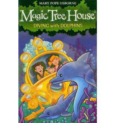 Red Fox Magic Tree House Collection - Diving with Dolphins