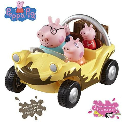 Character Options Peppa Pig's Muddy Puddles Adventure Buggy