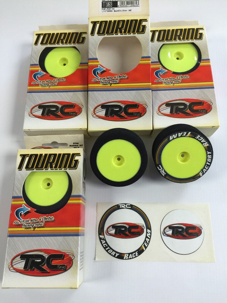 Rc Foam Tires Mugem Serpent Traxxas Xray 1/10 Touring Car Ofna Losi