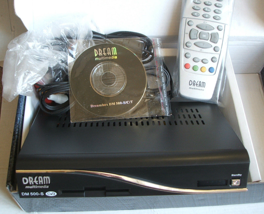 DREAMBOX 500S DIGITAL LINUX FTA SET TOP BOX BLACK BOX 500