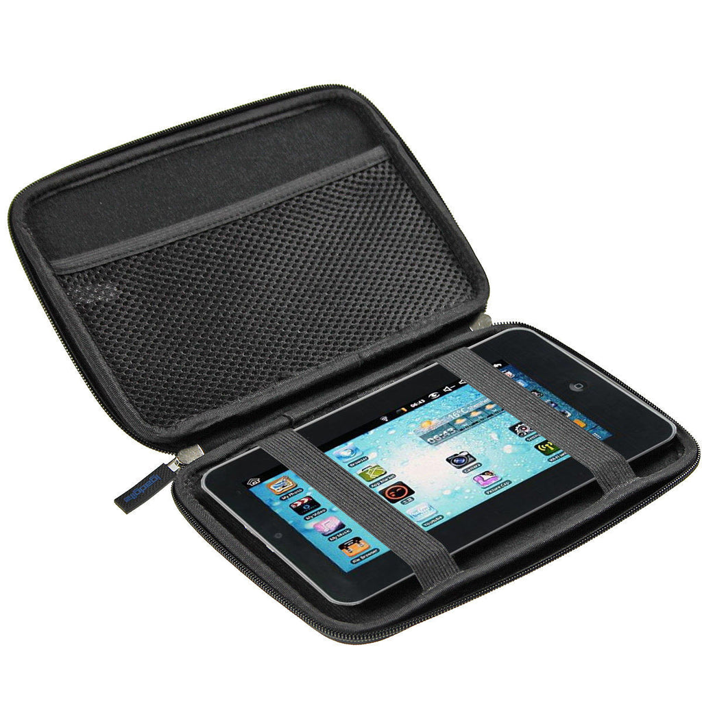 Black EVA Travel Hard Case for NATPC M009S 8GB 7 Inch Android Tablet PC Cover