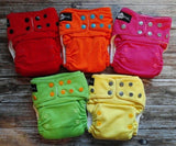 5 funky fluff 2.0 bamboo ai2 cloth diapers