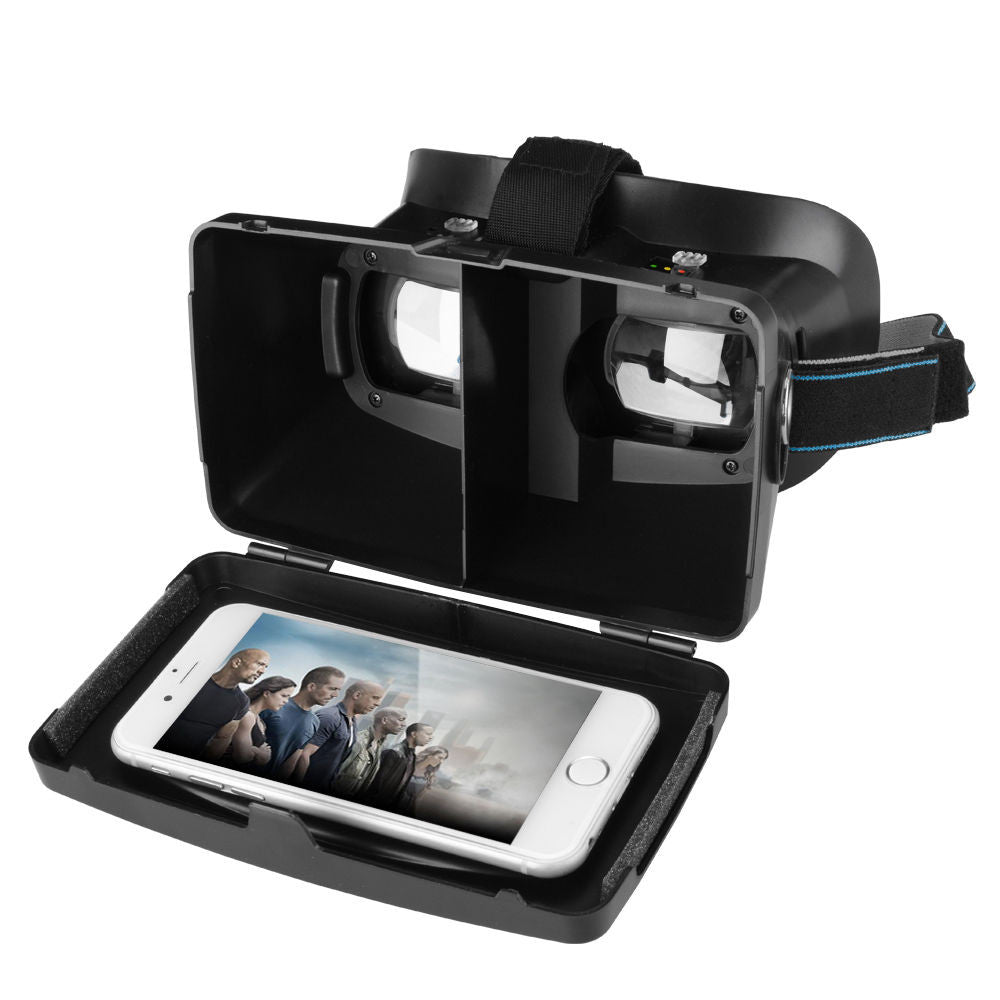 3D Virtual Reality Video Glasses Google Cardboard For Smart Phone IPHONE6 5s