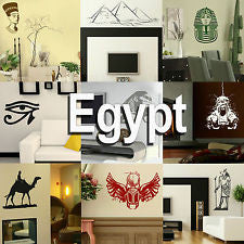 Egypt Wall Stickers Home Vinyl Transfer Egyptian Graphic Art Decal Decor Stencil