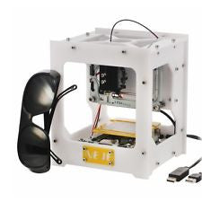 NEJE 300mW USB DIY Laser Engraver Cutter Machine Laser Printer Equipment White