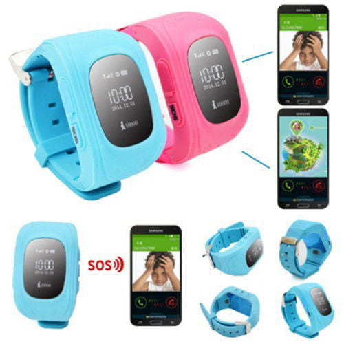 Kids Child GPS Tracker Smart Watch Remote Monitor SOS Anti Lost