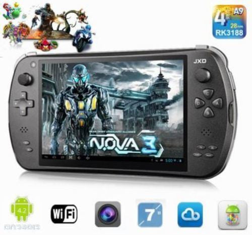 JXD S7800B 16Gb 7 pouces Game Pad 3, Android 4.4 2Gb de RAM