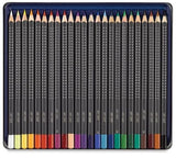 Faber Castell Art GRIP Color Pencil Set of 24 in Tin