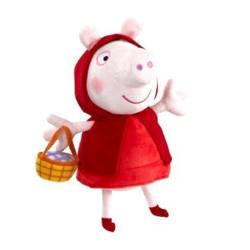 TY Inc Peppa Pig Once Upon A Time - Red Riding Hood Plush Toy