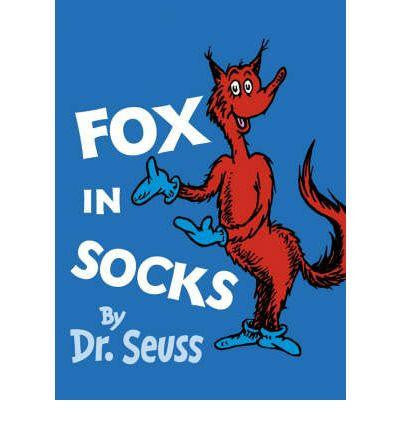 HarperCollins The Wonderful World of Dr. Seuss 20 Book - Fox in Socks