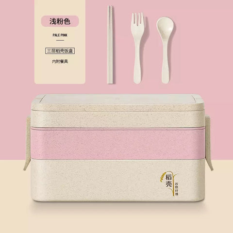 Three Layer Lunch Box 1.5L