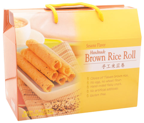Brown Rice Roll (Sesame)