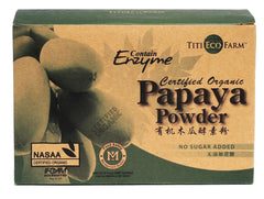 Organic Papaya Powder - Sachets
