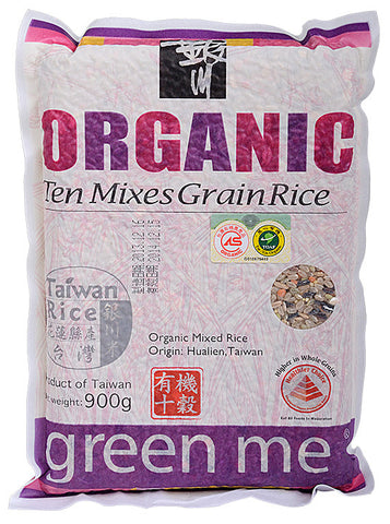 Organic Ten Mixes Grain Rice