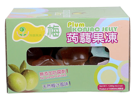 Plum Konjac Jelly