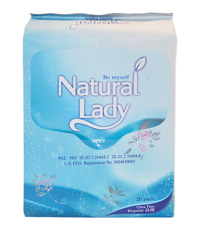 Natural Lady Regular Sanitary Napkins