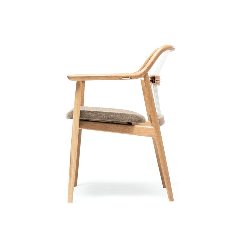 Rope Back Kitchen Chair
