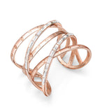 Rose Gold Cuff Bangles Bracelet,Fashion Jewelry Bracelets