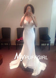 Ivory Fitted Beaded Cap Sleeves Draped Bodice Formal Gown With Sheer Back