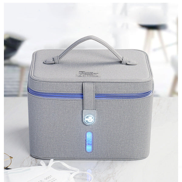 UV Light Sanitizer Box Large Portable UV Light Sterilizer Bag for Cell Phone, Jewelry, Kids Toy, Underwear, Makeup Tool