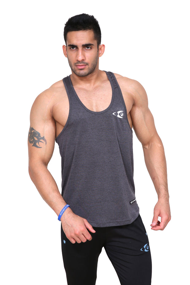 Fitwolf Ajax Stringer - Charcoal Grey