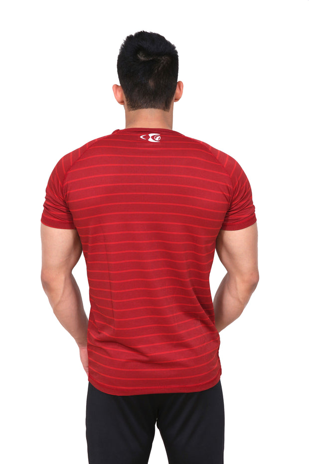 Fitwolf Atlas T-Shirt - Cornell Red