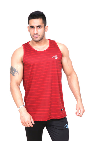 Fitwolf Atlas Tank - Cornell Red