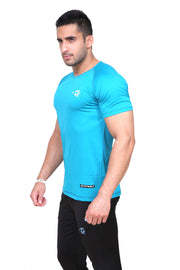 Fitwolf Atom T-Shirt - Turquoise Blue