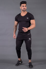 Fitwolf Classic V-neck T-shirt 2.0 Black