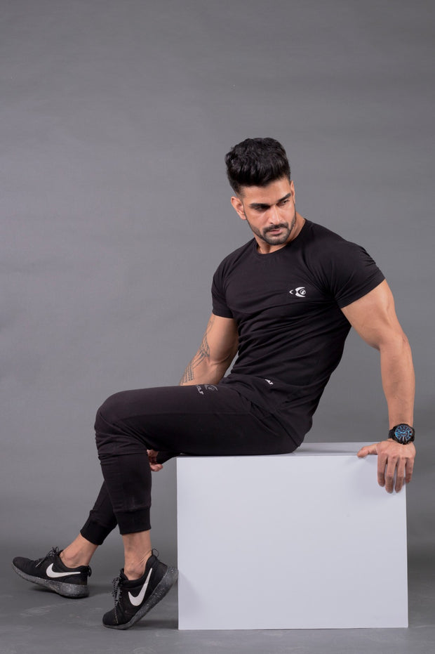 Fitwolf Neron T-shirt- Black