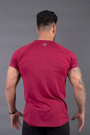 Fitwolf Neron T-shirt- Plum