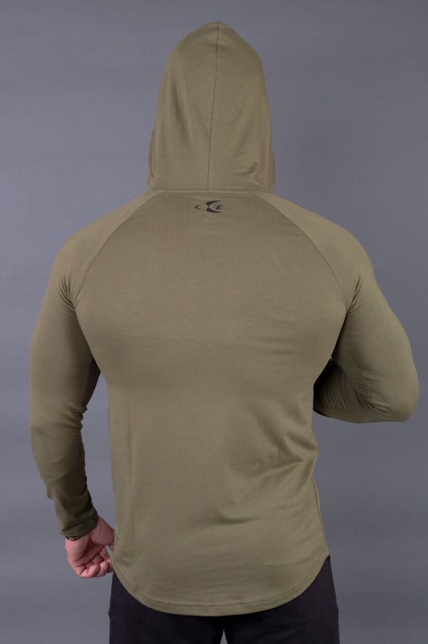 Fitwolf Ethan Long Sleeves Hoodie - Cypress