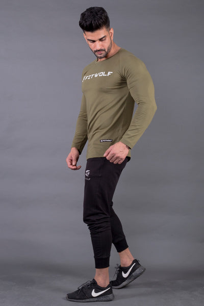 Fitwolf Ethan Long Sleeves T-shirt - Cypress