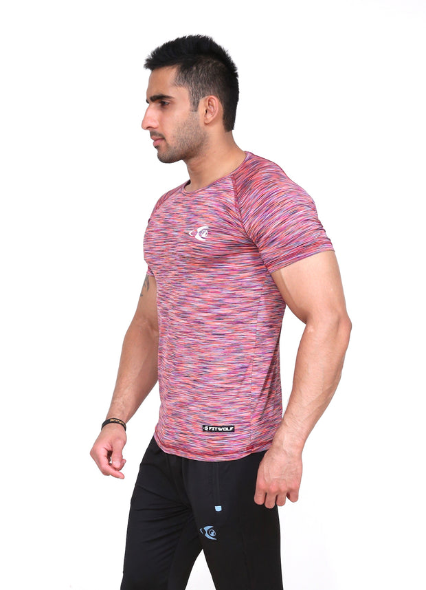 Fitwolf Turbo T-Shirt - Active Red
