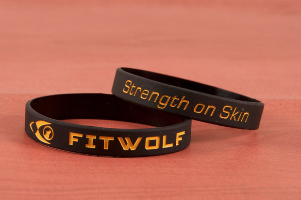 Fitwolf Wrist Band - Black