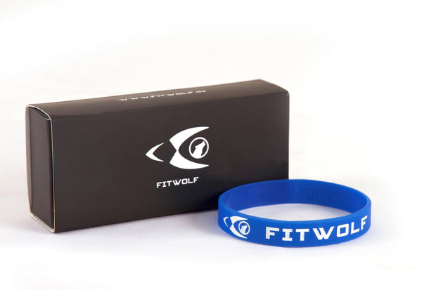 Fitwolf Wrist Band - Blue